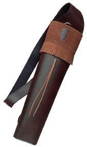 Neet Archery Traditions Back Quiver Color Brown Leather, http://www.amazon.com/dp/B000KORBQM/ref=cm_sw_r_pi_awdm_ANDktb1W97QEY