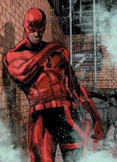 Marvel Comics Art, Marvel Heroes, Marvel Man, Marvel Comic Character, Marvel Characters, Daredevil Punisher, Daredevil Artwork, Geeks, Hells Kitchen