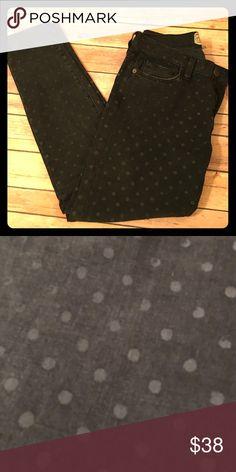 Selling this Cute polka dotted black skinny jeans! on Poshmark! My username is: violaval. #shopmycloset #poshmark #fashion #shopping #style #forsale #Current/Elliott #Denim