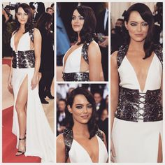 in from the Red Carpet of Emma Stone, Fit S, Red Carpet, Prada, Sequin Skirt, Instagram Posts, Outfits, Style, Fashion