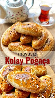 Mayasız Kolay Poğaça – Nefis Yemek Tarifleri – How to make Easy Unleavened Donut Recipe? Here is an illustrated description of the Unleavened Easy Pastry Recipe in the book of people and the photos of the experimenters. Yummy Recipes, Easy Pastry Recipes, Low Carb Recipes, Yummy Food, Summer Dessert Recipes, Easy Desserts, Homemade Donuts, Make It Simple, Food And Drink