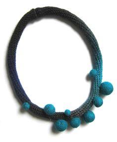 wonderful crocheted jewellery