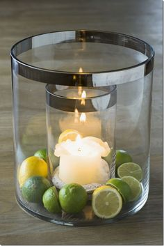 So many ideas to put in this double-walled hurricane lamp! Hurricane Candle Holders, Hurricane Lamps, Candle Lamp, Candle Lanterns, Chandeliers, Rivera Maison, Belgian Pearls, Candle In The Wind, Vase Fillers