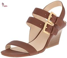 ad8279d733f Nine West Gadele cuir Wedge Sandal - Chaussures nine west ( Partner-Link)