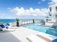 """White House Buccaneer """" Move in Ready - Villas for Rent in Christiansted, St Croix, U. Swimming Pools, The Neighbourhood, Villa, Ocean, Mansions, House Styles, World, Virgin Islands, Caribbean"""