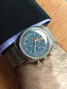 Vintage Omega Cal 321 Seamaster Chronograph #Omega #Seamaster #womw #watches #menswear - omegaforums.net