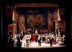 LUCIA DI LAMMERMOOR à l'Opéra d'Avignon Laurence Jannot, Roberto Alagna Scénographie et mise en scène A.SELVA ( antoineselva.com )