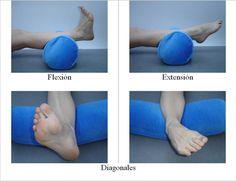 Monika De Cabecera: Esguince de tobillo: ejercicios para fortalecerlo y recuperarlo