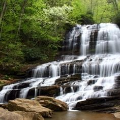 10 Amazing Waterfalls Within Reach - CHIMNEY ROCK STATE PARK An hour's drive from Greenville, S.C.; less than two hours' drive from Charlotte, N.C. An easy stroll of less than a mile takes hikers to the base of the 400-foot-high Hickory Nut Falls. If you are in the mood for some real exercise, take one of the park's more strenuous trails up to a high point for panoramic views of this amazing landscape. Best time to visit: Year-round, but the views in fall are especially stunning.