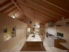 「段差で繋がる、のびやかで包容力ある住まい」ハンクラデザインの投稿記事|HouseNote(ハウスノート)