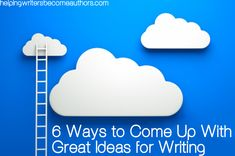 Idea creation may seem a random and even mystical process, but there are simple and practical ways to increase your chances of coming up with great ideas for your writing.