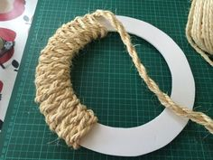 Rope wreaths are great for all times of the year. They add a quirky, nautical mood to any room, and a wonderful sense of seaside nostalgia. We've put together a step by step guide for you to create your own rope… Continue Reading → Nautical Wreath, Seashell Wreath, Seashell Crafts, Beach Crafts, Nautical Craft, Coastal Wreath, Driftwood Wreath, Nautical Rope, Vintage Nautical