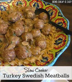 Turkey Swedish Meatballs {Plus a Giveaway!} Recipe on Yummly. @yummly #recipe