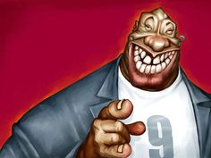 Michael Clarke Duncan | 29 Celebrity Caricatures That Are Incredibly Accurate - www.remix-numerisation.fr - Rendez vos souvenirs durables ! - Sauvegarde - Transfert - Copie - Digitalisation - Restauration de bande magnétique Audio - MiniDisc - Cassette Audio et Cassette VHS - VHSC - SVHSC - Video8 - Hi8 - Digital8 - MiniDv - Laserdisc