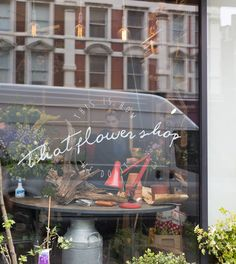 that flower shop.   london