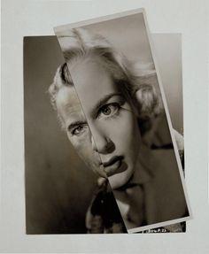 John Stezaker, Matrimonio (Film Collage del retrato) XXVII 2007