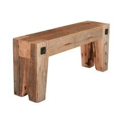 Reclaimed Wood Benches, Reclaimed Wood Projects, Rustic Bench, Reclaimed Wood Furniture, Reclaimed Barn Wood, Rustic Furniture, Industrial Furniture, Furniture Design, Repurposed Wood