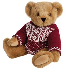 This Nordic Sweater Bear from Vermont Teddy Bear Company is a cute holiday gift for little ones!