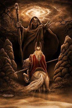 the art of Ozhiganov Igor Norse Pagan, Norse Mythology, Viking Art, Viking Warrior, Eslava, Vegvisir, Desenho Tattoo, Norse Vikings, Asatru