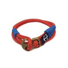 Bran Marion Ginevra Nautical Bracelet sold by Bran Marion. Shop more products from Bran Marion on Storenvy, the home of independent small businesses all over the world. Surfer Bracelets, Bracelets For Men, Handmade Bracelets, Nautical Bracelet, Nautical Jewelry, Reef Knot, Marine Rope, Red Rope, Rope Jewelry
