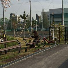 21:「こういう使い方もできるのね」@隅田公園
