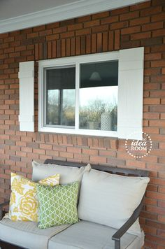 DIY Board and Batten Shutter Tutorial via Amy Huntley (The Idea Room)