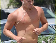 the real channing tatum ladies not the air brushed idol