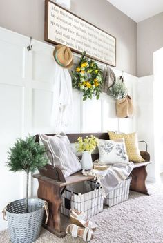 Farmhouse Decorating Ideas — Summer Decorating Ideas