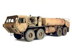 M978 Hemtt Oshkosh Fuel Tanker 1/35 Scale Model