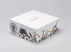 упаковка дизайн упаковки кондитерских изделий сладостей конфет
