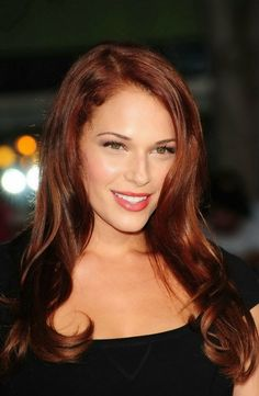 Amanda Righetti from The Mentalist.  Love her red hair. by esmeralda1222