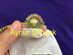 İki yaprak ortası çiçek aralı yemeni modeli / needle lace - YouTube Needle Lace, Class Ring, All Things, Sewing, Pattern, Youtube, Lace, Dressmaking, Couture