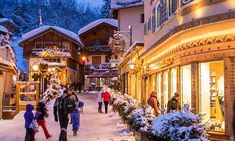 A weekend in fashionable Megeve, where skiing is almost a sideshow