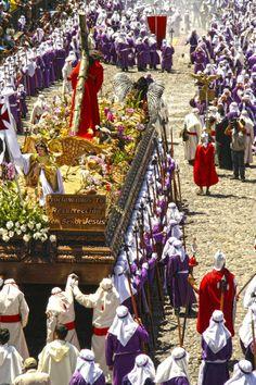 Procesiones Cuaresma y Semana Santa 2014, La Antigua Guatemala.