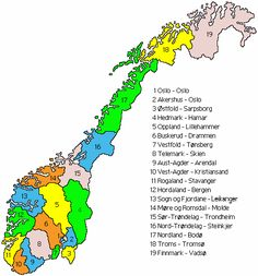 Norwegian counties