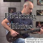 Finger Picking Blues en Mi  guitar cover - Guitare-booster