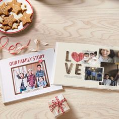 Treasure your favorite memories in a custom photo book. Make one for yourself and give the other one as a gift! This personalized gift is one they won't forget. Holiday Gifts, Holiday Cards, Custom Photo Books, Personalised Photo Cards, Create Photo, Genealogy, Diy Gifts, Are You The One, Forget