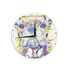 "Rebecca Fischer ""Niko"" French Bulldog Wall Clock"