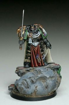 Vadskærs Marines - The Bolter and Chainsword : A Space Marine Resource Warhammer Dark Angels, Dark Angels 40k, Warhammer 40k Figures, Warhammer Models, Warhammer 40k Miniatures, Warhammer Fantasy, Warhammer 40000, Mini Paintings, Cool Paintings