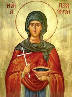 #saint, #saintparaskevi, #bysantine, #iconography, #greekiconography, #evapolart, #handmade, #handpainted, #handcrafted