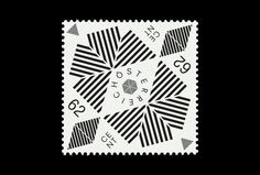 Ideas competition postage stamp, by Manuel Radde Postage Stamp Design, Postage Stamps, German Stamps, Card Book, Poster S, Art Graphique, Branding, Grafik Design, Stamp Collecting