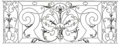 Fancy French Iron Work Image! - The Graphics Fairy