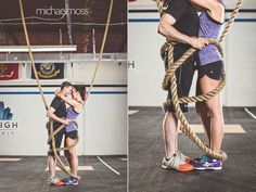 raleigh cross fit fitness engagement session - Raleigh Wedding ...