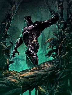 Black Panther by Jose Holder, Color by Simon Gough
