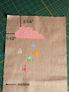 Machine Applique How To - very basic and informative