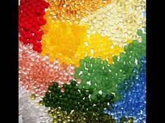 Видеоурок: Процесс вышивки бисером (как научиться удобно и быстро вышивать бисером) - YouTube Bead Art, Beaded Embroidery, Seed Beads, Needlework, Sewing, Painting, Jewelry, Youtube, Crocheting