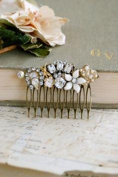 Wedding Accessories Weddings & Events Novelties Mariage Decoration Simple Chrysanthemum Crystal Twisted Beads Handmade Hair Band Headband Wedding Accessories Highly Polished