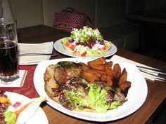 Marks dinner in Germany