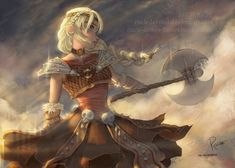 Warrior | Astrid by RaideDeviant on DeviantArt