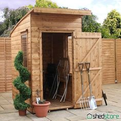 Windsor Curved Roof AERO Wooden Shed